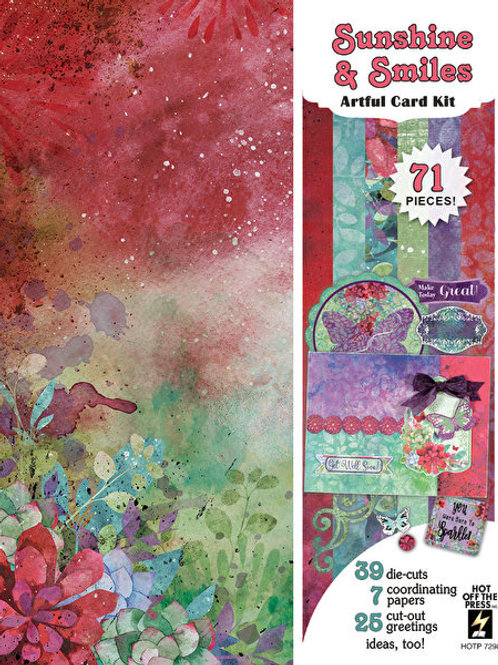 Sunshine & Smiles Artful Card Making Kit