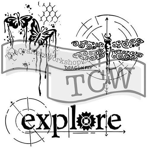"""TCW - 6x6 -  """"Mini Winged Exploration"""""""
