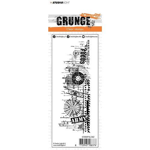 "Studio Light Grunge Collection Stamp 5"" X 1 1/2"""