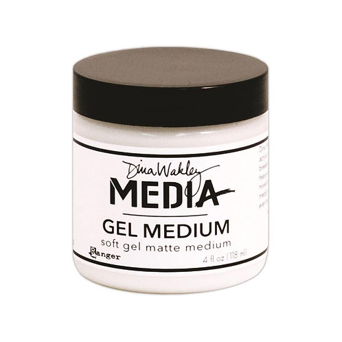 Dina Wakley Media Gel Medium 4oz Jar