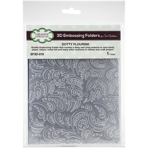 """Creative Expressions 3D Embossing Folder """" 5.75""""X7.5"""""""