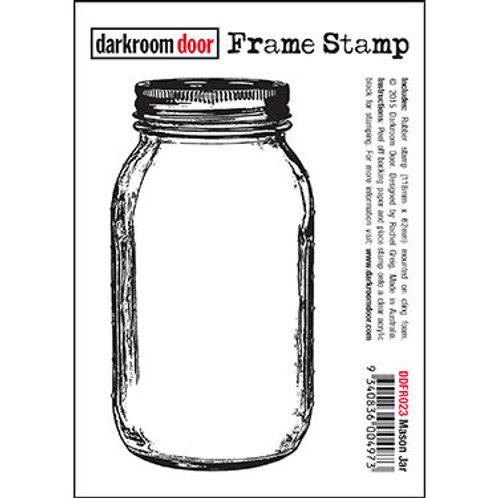 """Darkroom Door Frame Stamp - """"Mason Jar"""""""