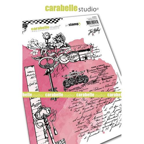 Carabelle Studio Cling Stamp A5 Secret Garden