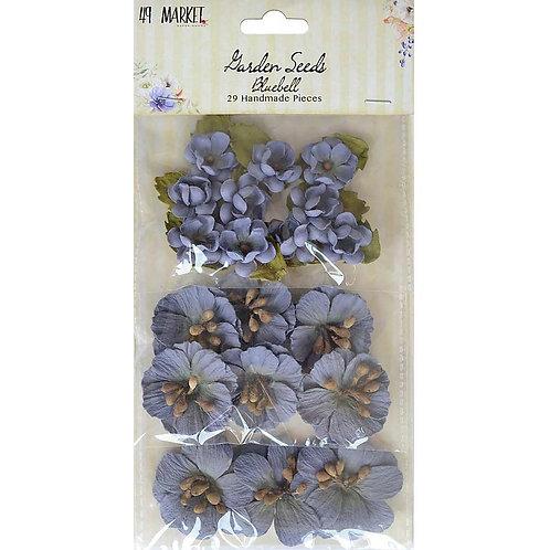 """49 Market Garden Seeds """"Bluebell"""" Flowers 29pcs"""