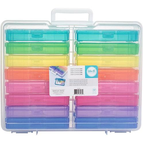 We R Craft & Photo Translucent Plastic Storage