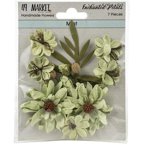 """49 Market Enchanted Petals 7 pcs """"Mint"""""""