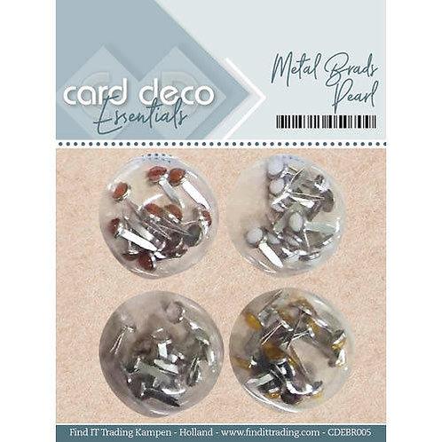 Card Deco Metal Brads 48pcs