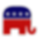 Rep%20Elephant-stock-photo-red-white-and