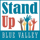 Stand Up Blue Valley Logo_Use for White