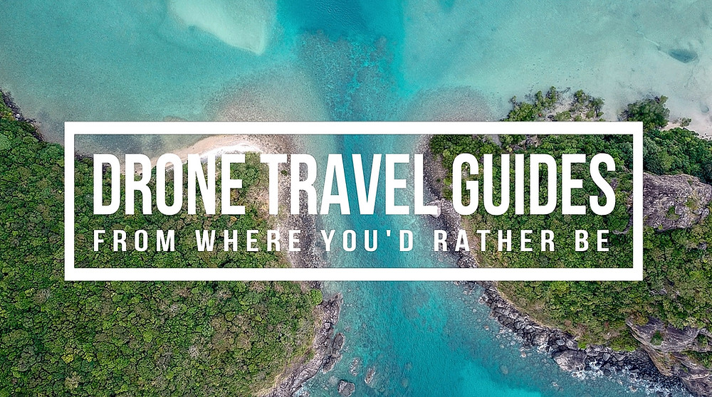 Travel with a drone guide