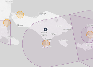 Bali Drone Map