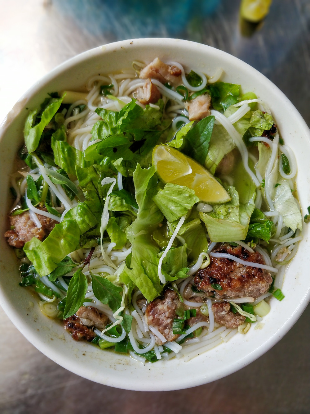Bun cha Mai Chau's signature dish