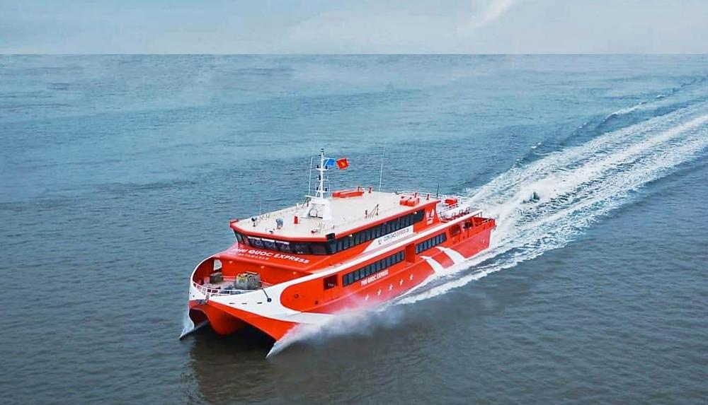 Boat to Con Dao Island