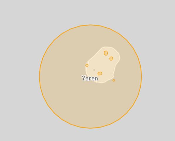Nauru drone fly map