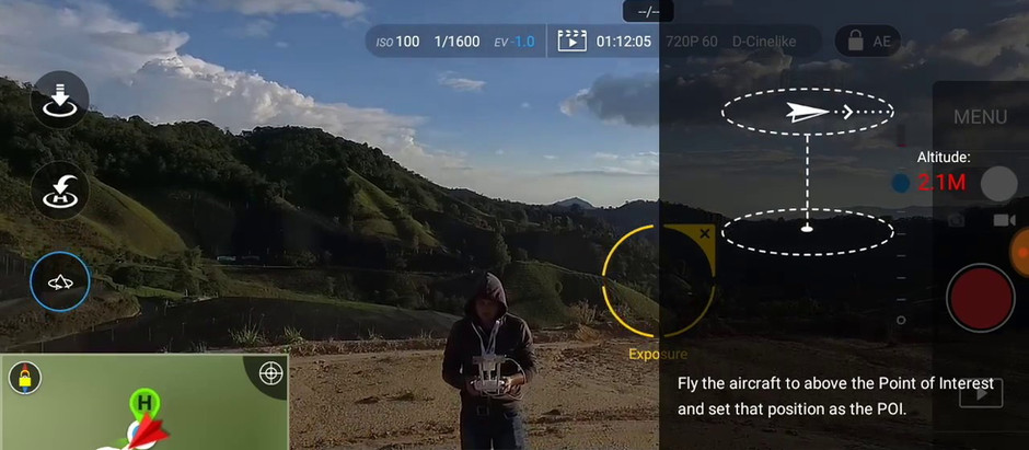 All about DJI's Point of Interest intelligent drone flight mode
