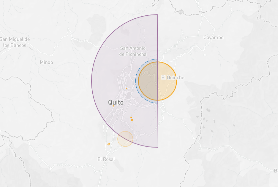 Argentina drone fly map