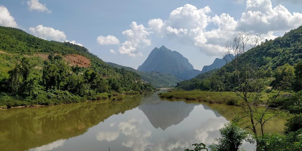 River transportation to Muang Ngoy