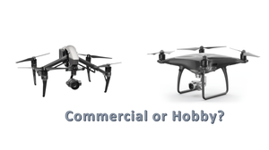 Commercial or recreational drone usage?