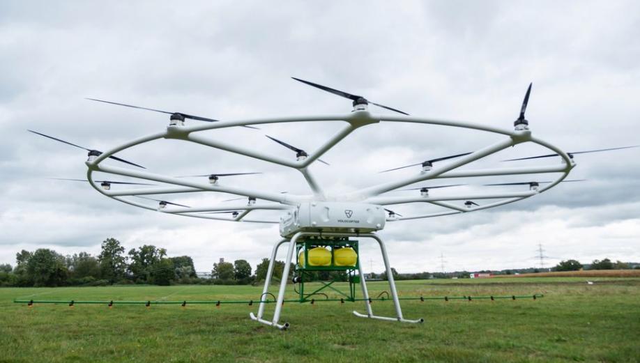 John Deer / Volocopter Drone
