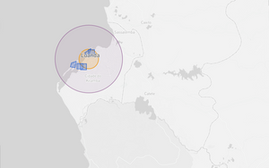 Angola Drone fly map