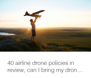 Airlines drone policies in review