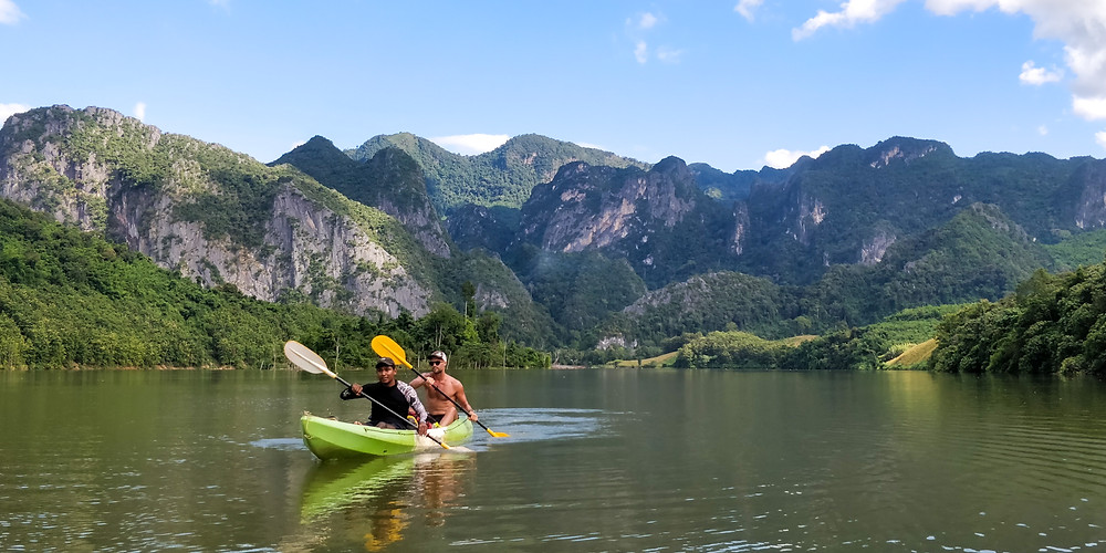 Kayak from Nong Khiaw