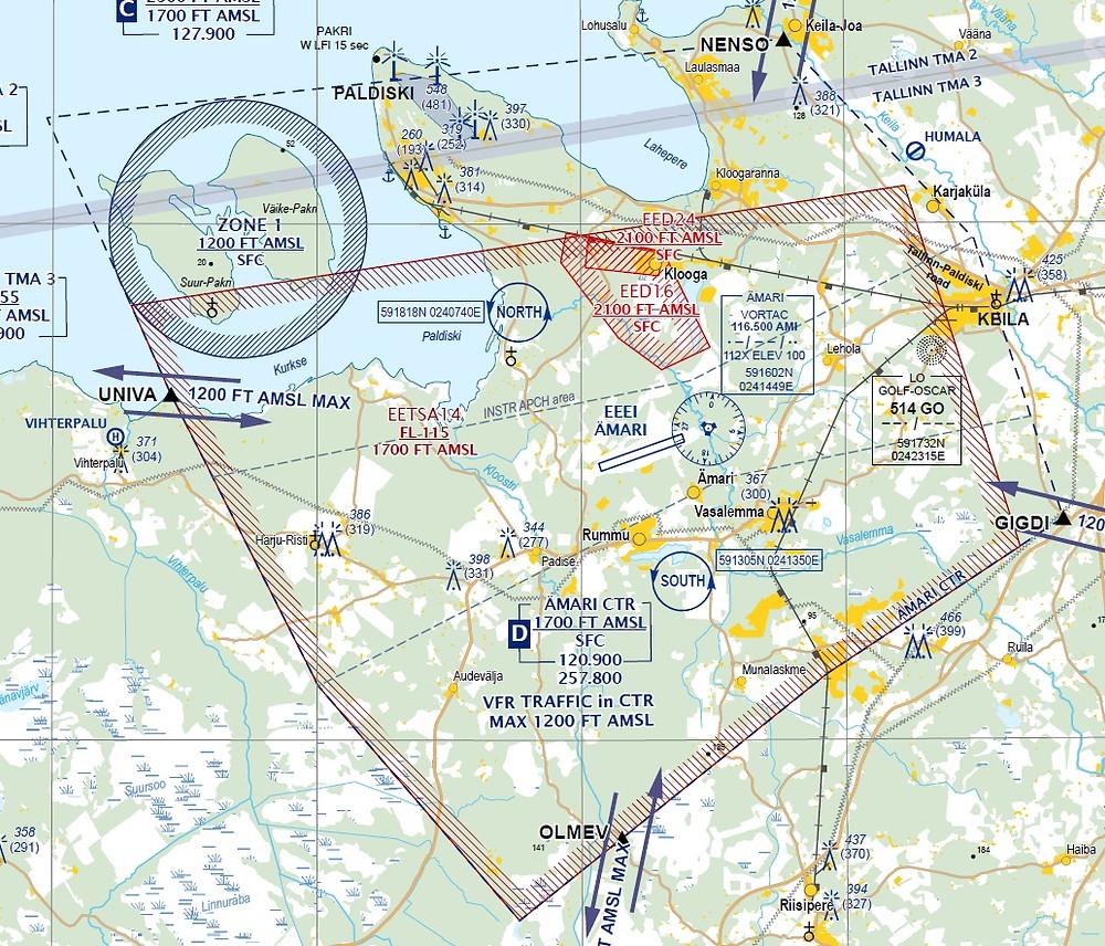 Amari drone fly map
