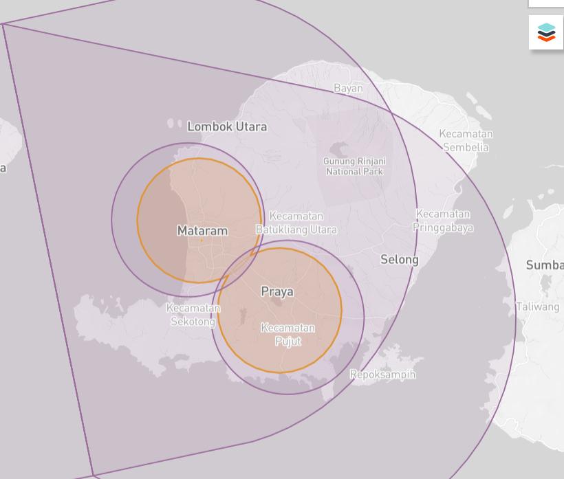 Lombok Drone Map