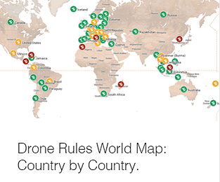 drone rules world map