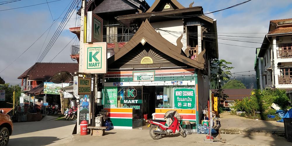 Vang Vieng K-mart