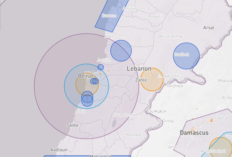 Moldova drone fly map