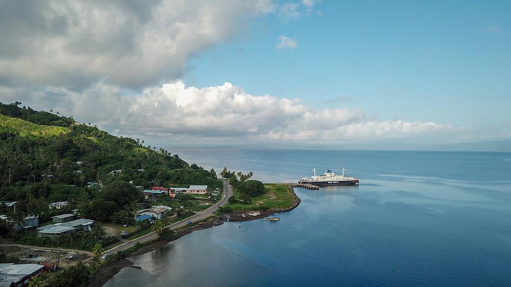Ferry Stopover in SavuSavu