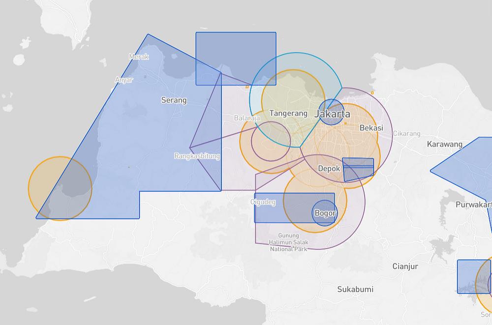 Jakarta Drone Map