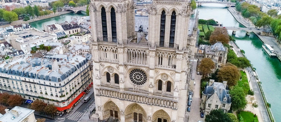 The Ultimate Guide to fly your drone over Notre Dame de Paris, France