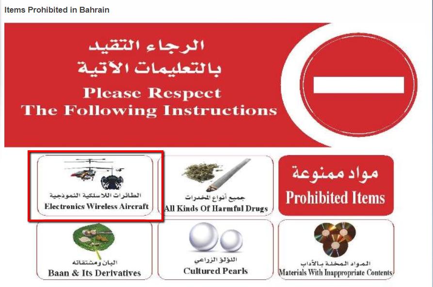 Source: bahraincustoms.gov.bh