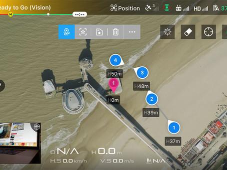 All about DJI's Waypoints 2.0 intelligent drone flight mode