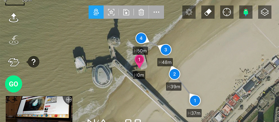 All about DJI's Waypoints 2.0 intelligent drone flight mode