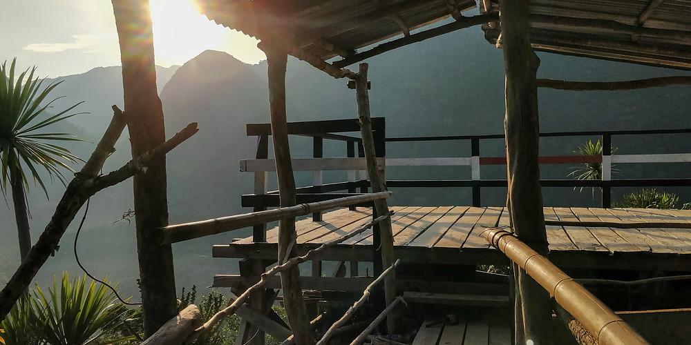 Phanoi Viewpoint at sunset