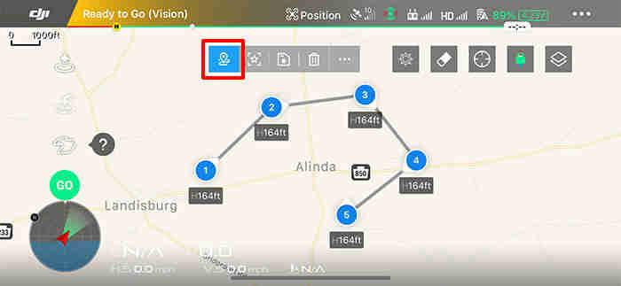 Create A Waypoint 2.0 Dji Intelligent Flight Mode