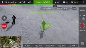 Active Track Intelligent Flight Mode DJI