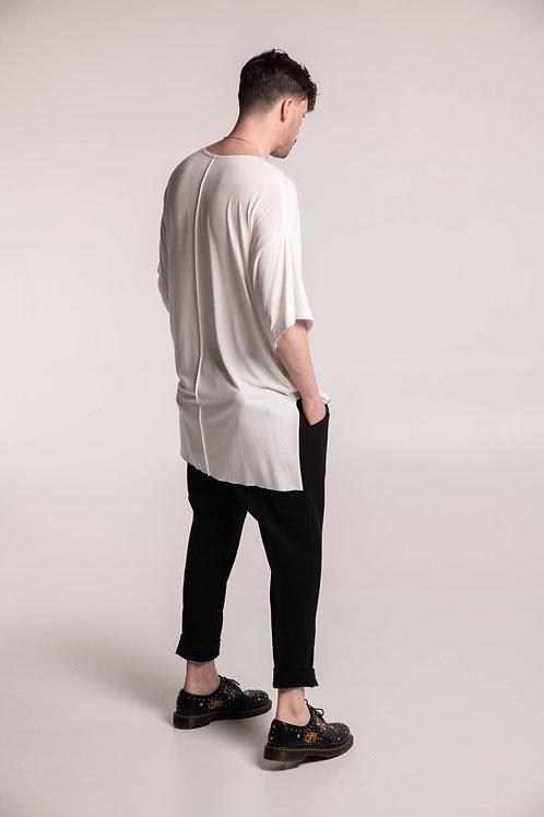Tee-shirt oversized asymétrique Unisexe