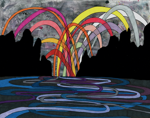Exuberant Flood