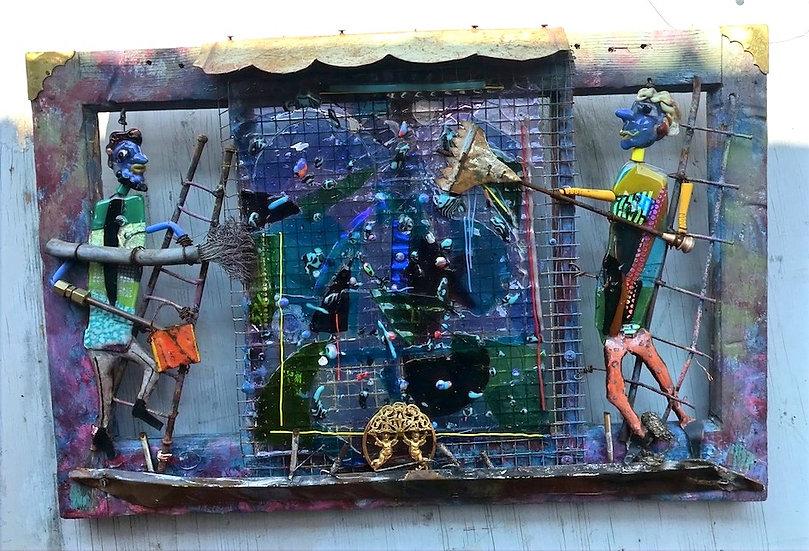 Post Apocalypse Window Washers