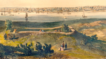 Fort Pickering and Fort Lee