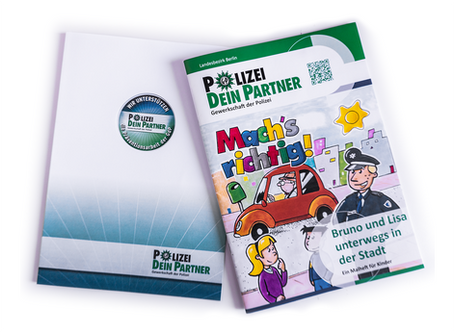 Gd-Polizei - Kindermalbuch - Heistermann