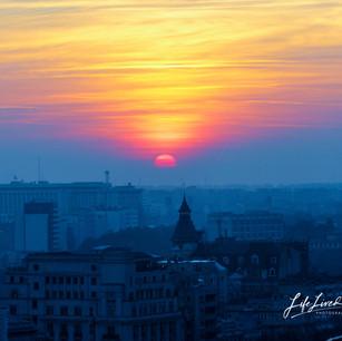 Bucharest Sunset