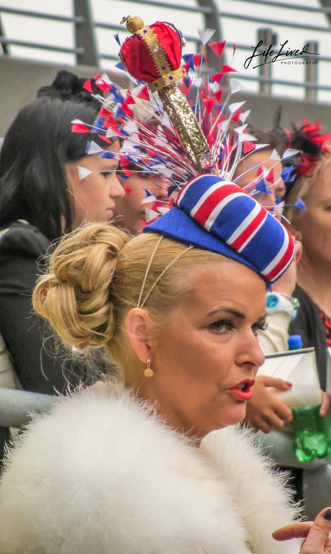 Ladies Day at Ascot UK