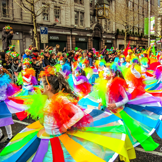St Patricks Day Dublin Ireland