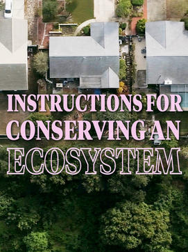 CONSERVING AN ECOSYSTEM