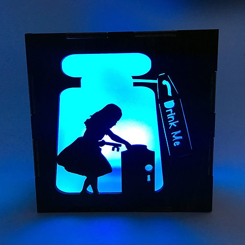 Alice's Adventures in Wonderland LED Lantern